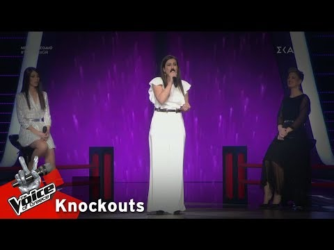 Λεμονιά Μπέζα – Woman in Love | 3o Knockout | The Voice of Greece