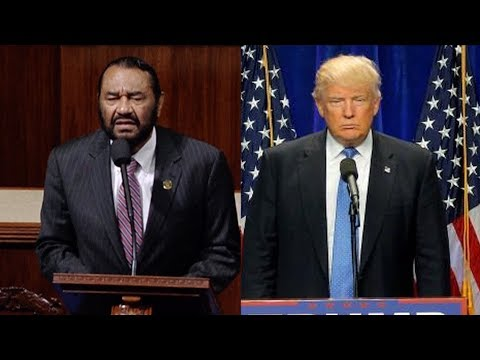 Rep. Al Green to Draft Articles of Impeachment Against Trump, Citing Obstruction of Justice