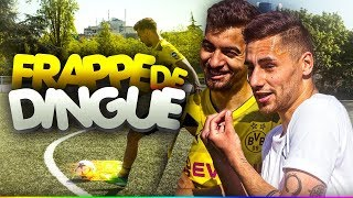 Football challenge vs un enorme youtuber !!!