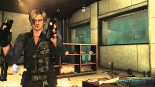 Resident Evil 6 Chapter 5 Zombie Leon!!! Walkthrough Gameplay Playstation 3 Xbox 360 HD