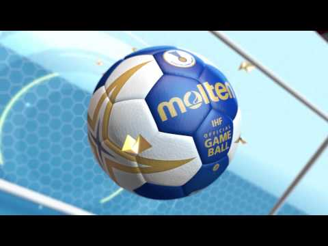 "Video: Molten Handball  ""HX5001-BW"""