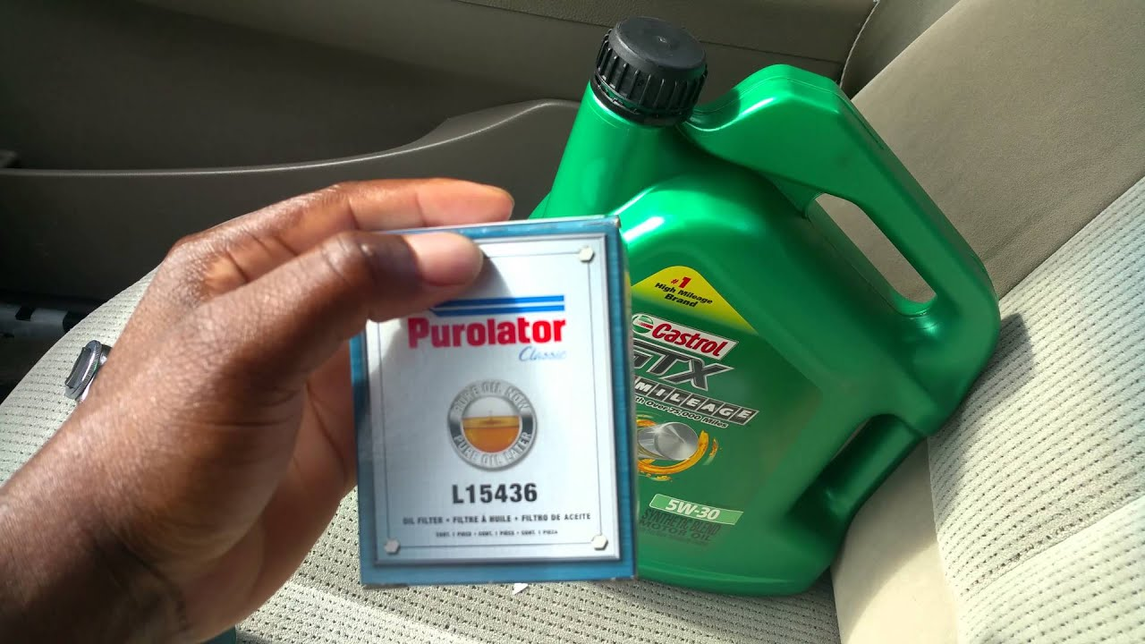 Tools For Chevy Malibu Oil Change 08 To 2017