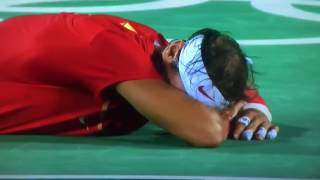 Match Point of Nadal and Lopez in Olympics Final