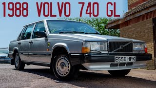 1988 Volvo 740 GL Goes for a D…
