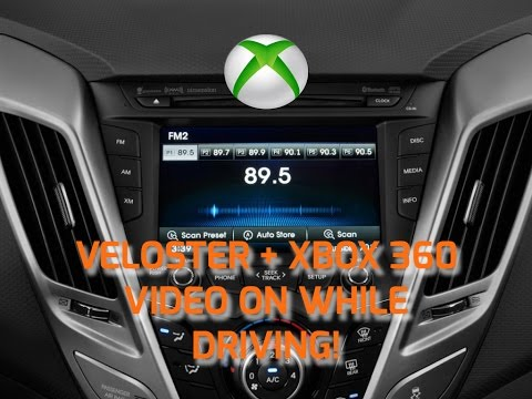 Xbox 360 Hyundai Veloster 2012 Video On While Driving