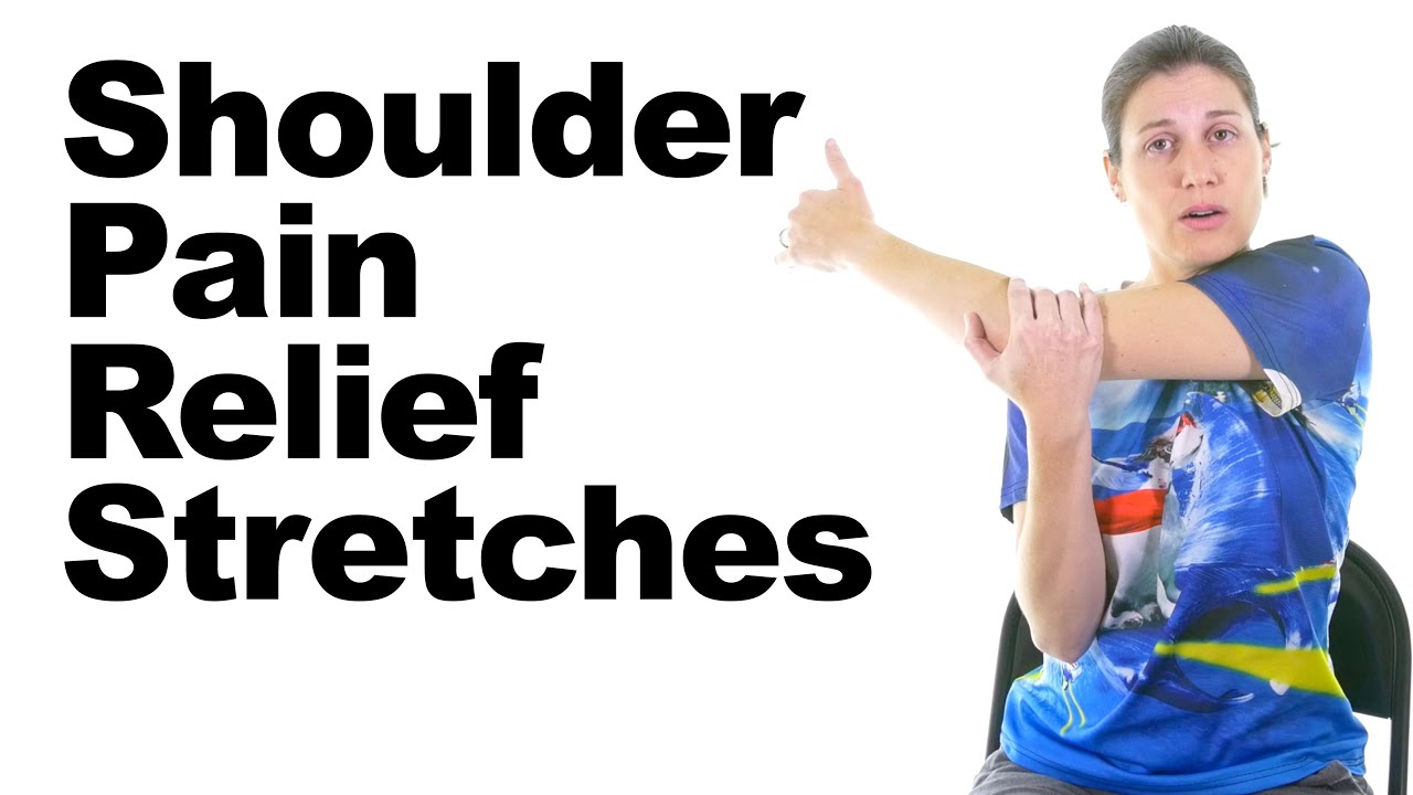Shoulder Pain Relief Stretches  5 Minute Real Time Routine