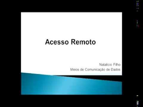 Video-aula Acesso Remoto e VPN
