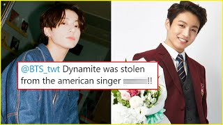 ARMY's ANGRY, DYNAMITE COPIED From THIS ARTIST Jungkook's SHOCKING Marry Me Words