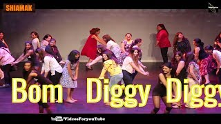 bom diggy diggy| lyrics| dance| tutorial |song|video| Shaimak London  Presentation 2018