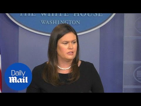 Sanders scolds the press for personal attacks from the media - Daily Mail