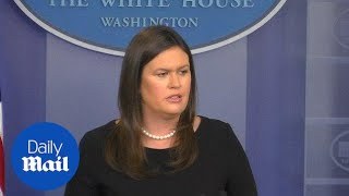 Sanders scolds the press for personal attacks from the media
