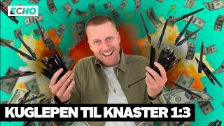 Hvor meget kan du bytte en kuglepen til på 14 dage? | Kuglepen til knaster – afsnit 1:3