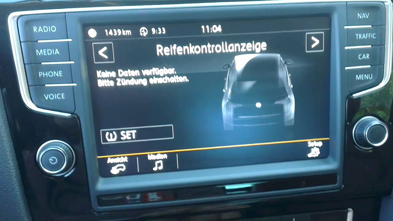 Golf 7 Infotainment System 8 Zoll Touchscreen Youtube
