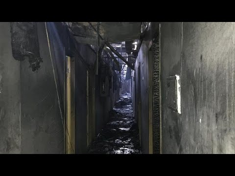 Euronews:Ukraine hotel fire: Eight people killed in blaze at Tokyo Star in Odessa
