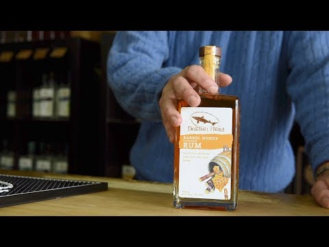 Dogfish Head Distilling Co.: Barrel Honey Rum