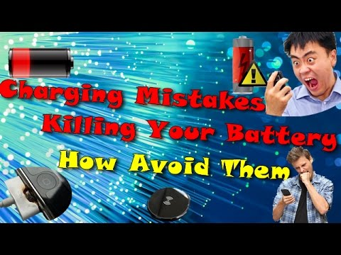 Charging Mistakes Killing Your Battery - How Avoid Them