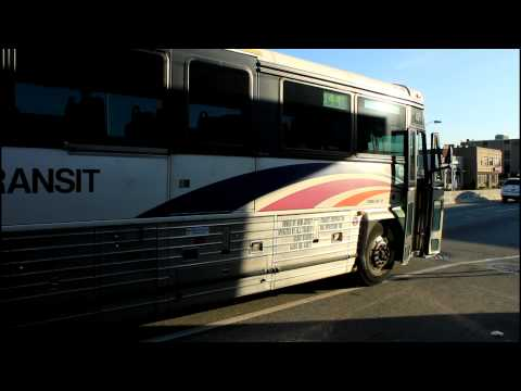 NJ Transit Bus: MCI D4000 on Route 144 / 171 at NJ Route 4 and 27th Street