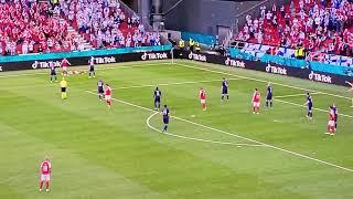 คริสเตียน อีริคเซ่น วูบหมดสติระหว่างแมทซ์ เดนมาร์ค VS ฟินแลนด์ EURO 2021