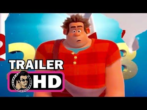 WRECK-IT RALPH 2 New Years Trailer (2018) John C. Reilly Disney Animated Movie HD