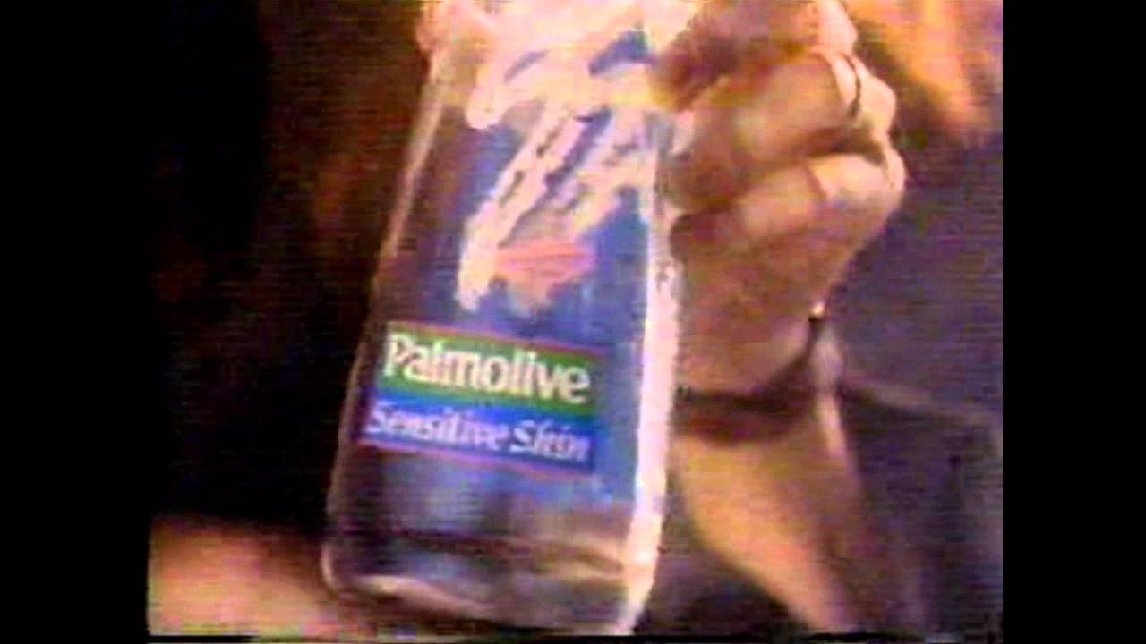1993 Palmolive Commercial Sensitive Skin Youtube
