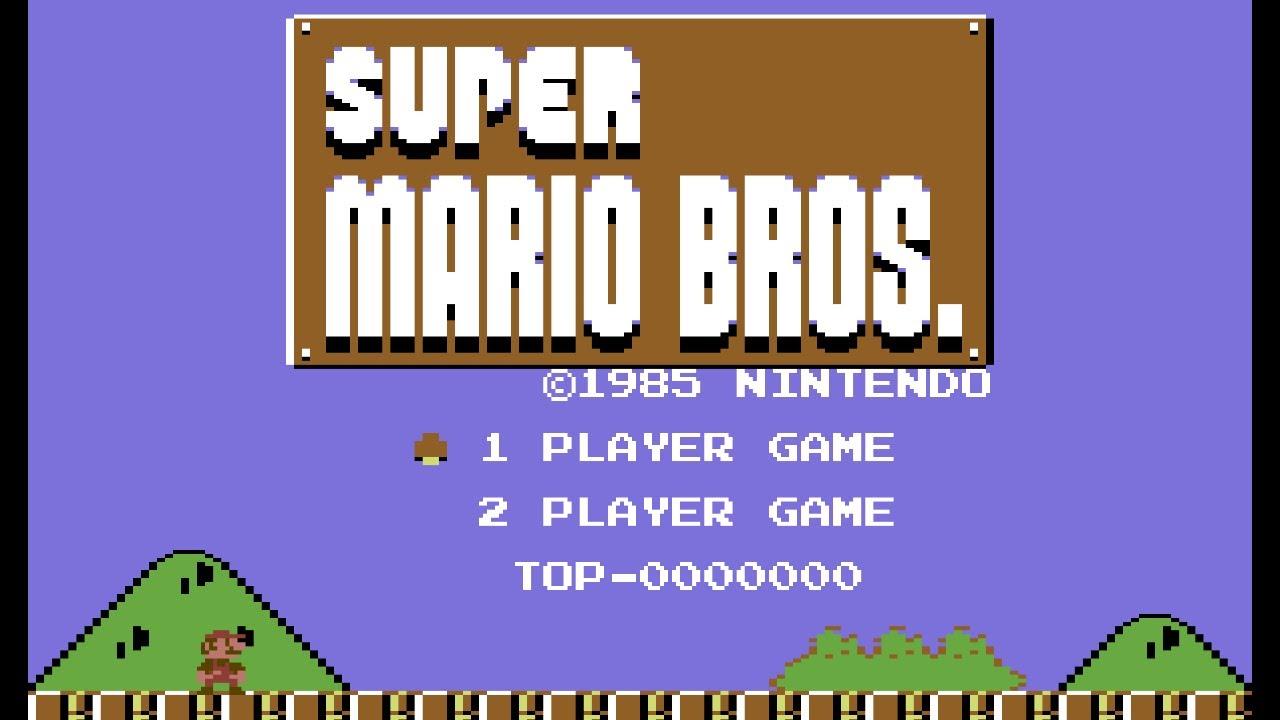 Nintendo Kills Impressive Super Mario Bros  Commodore 64