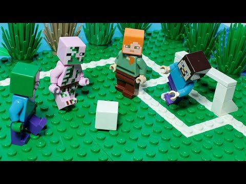 Lego Minecraft Football