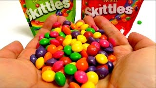 Skittles Candy Packs - Crazy Sours & Fruits