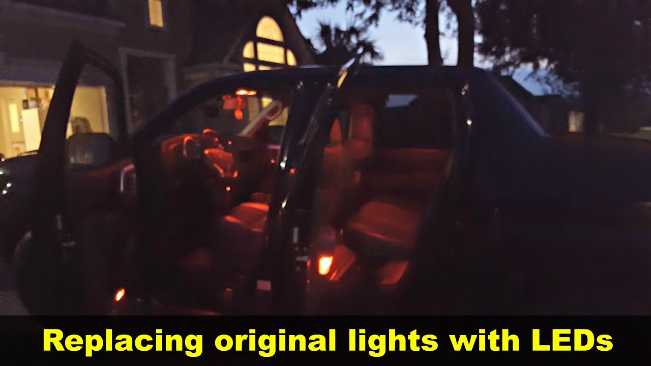 Installing Intierior Led Lights In A Honda Ridgeline Youtube