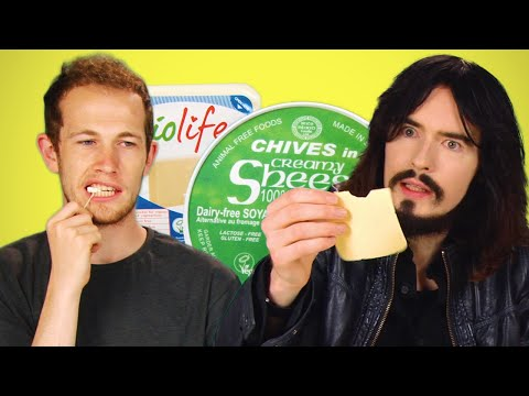 People Taste Test Vegan Cheese For The First Time