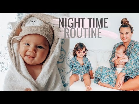 NIGHT TIME ROUTINE WITH TWO KIDS