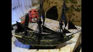Макет каробля (Черная Жемчужина корабль Джека Воробья)(, 2012-12-22T06:31:00.000Z)