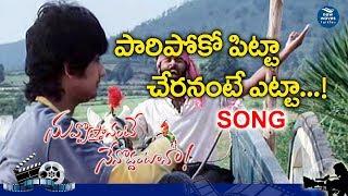 Nuvvostanante Nenoddantana Movie | Pari Poke Pitta Full Song | Siddharth, Trisha | New Waves Talkies