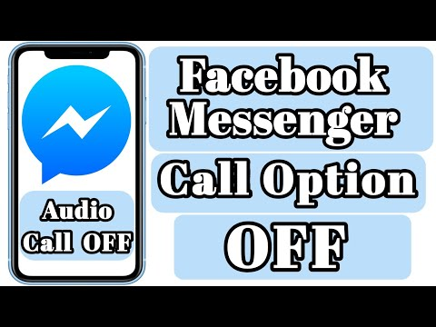 How To Turn Off Audio Call On Facebook Messenger | Disable Messenger Call