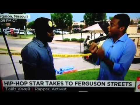 Rapper Talib Kweli Vs CNN over Michael Brown murder