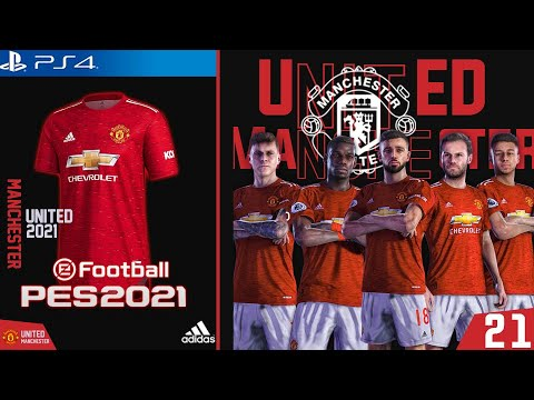 Pes 2020 New Kits 20 21 Manchester United Youtube