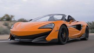 2020 McLaren 600LT Spider | Myan Orange