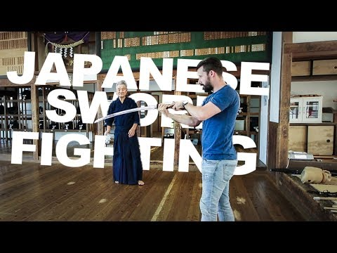 I Tried Japanese Sword Fighting