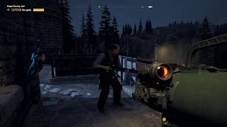 Far Cry 5 - Hope County Jail: Defend The Gate, Destroy The Speaker Trucks 3/3, Eliminate All Enemies