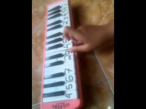 Not pianika lagu ayah