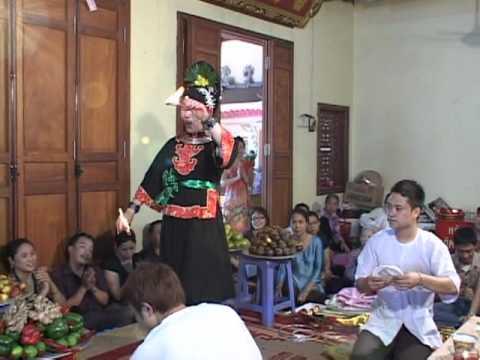 Cung nghinh Phật Thánh, Trắc giáng dương đồng  Thanh đồng Phạm Thị Bích Liên p5 Lư Giang Linh Từ