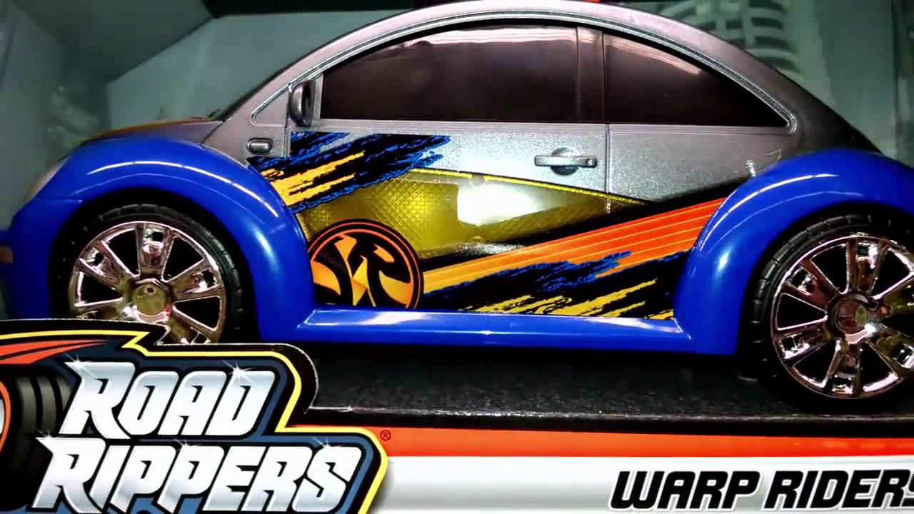 Road Rippers Warp Riders Volkswagen Beetle Toy Cars For