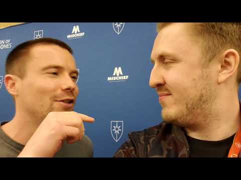 Con of Thrones 2018 : Azor Ahype trolls Gendry Baratheon Joe Dempsie!
