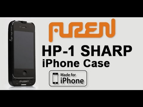 iFuzen HP-1 # Sharp iPhone case w/ Headphone Amplifier & Extended Battery!