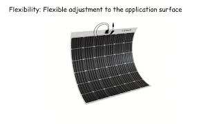 Flexible solar panel Tesup