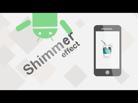 Add Shimmer Effect to Android app - The Engineer's Cafe