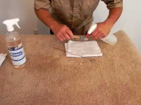 Getting Paint Out Of Carpet