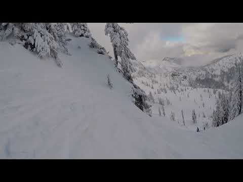 Skiing Alpental Ski Area Washington State with Jim 12-20-2017