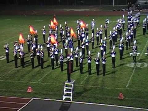 West Aurora Blackhawk Band plays Through the Fire and Flames