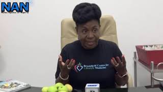 Dr ifeoma monye, medical practitioner and founder of society lifestyle medicine nigeria (solong) says is key to long healthy liv...