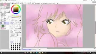 eevee girl speed art